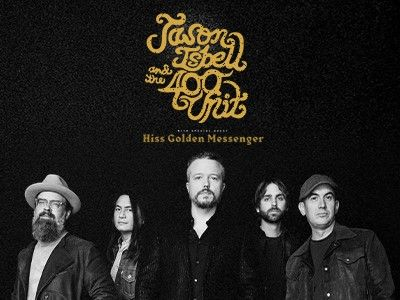 NEW DATE - Jason Isbell and the 400 Unit